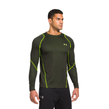 Футболка Under Armour термобелья Men's ColdGear® Infrared Grid Crew Rifle Green