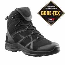 Ботинки HAIX Black Eagle Athletic 2.0 GTX Middle мембрана Gore-Tex черные